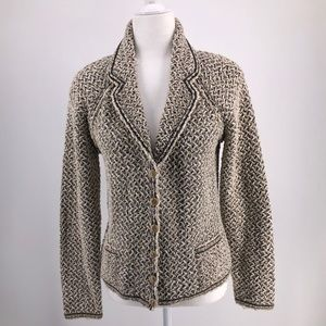 ESCADA  Boucle Tweed Blazer Size US M EU 38
